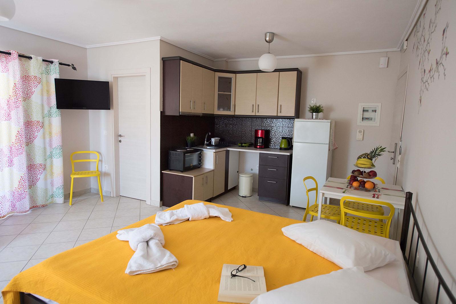 Alexandros Lefkada Studios 4klino first floor